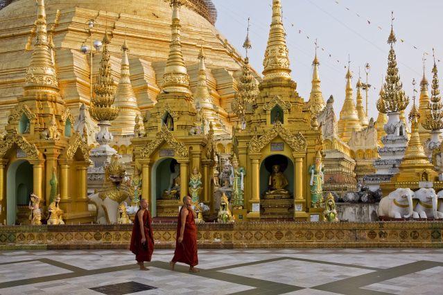 Pagode Shwedagon - Birmanie