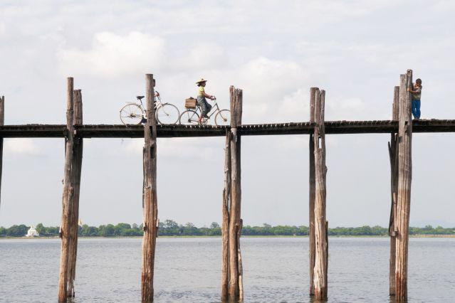 Voyage A vélo sur les sentiers birmans