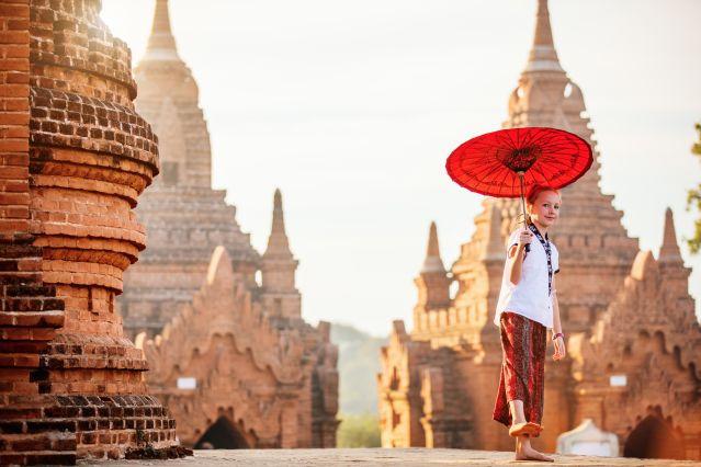 Voyage Jardins flottants et temples d'or
