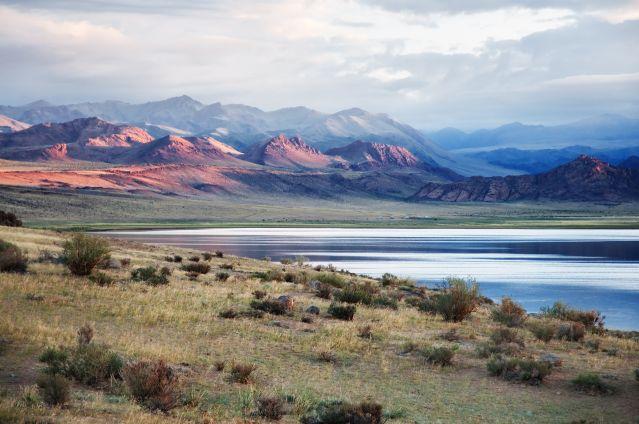 Voyage Trek dans la chaîne de l'Altaï