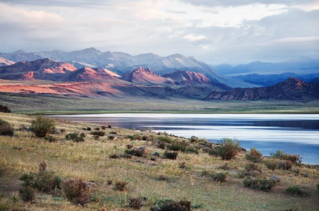 Lac Shatsagay Nuur - Massif de l Altaï - Mongolie