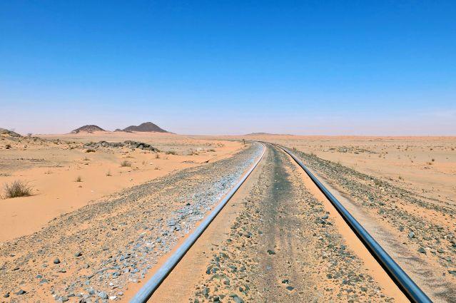 Région de Ben Amira - Le train du désert - Mauritanie