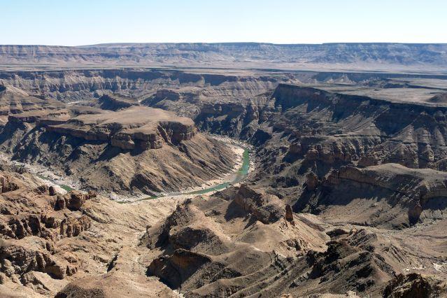 Voyage Sud Namibie, l'exploration du Fish River Canyon