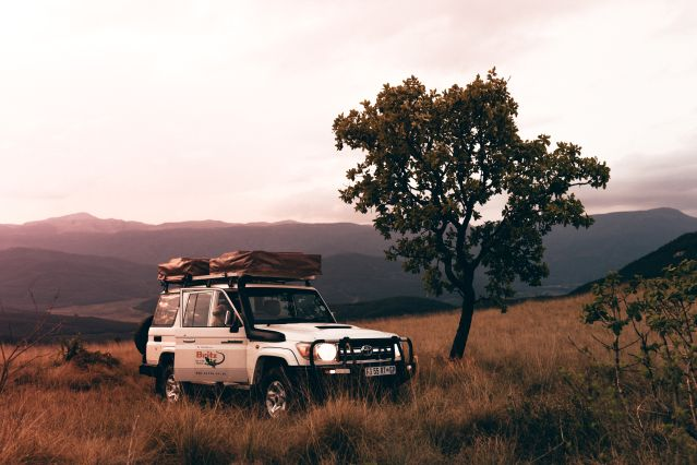 4x4 tente de toit - Afrique du Sud