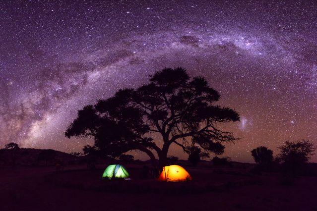 Voyage Family trip sous les étoiles