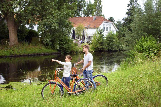 Voyage La Hollande à vélo : plages et châteaux en famille