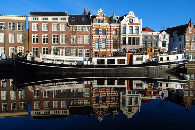 Voyage Amsterdam Bruges à vélo et en bateau