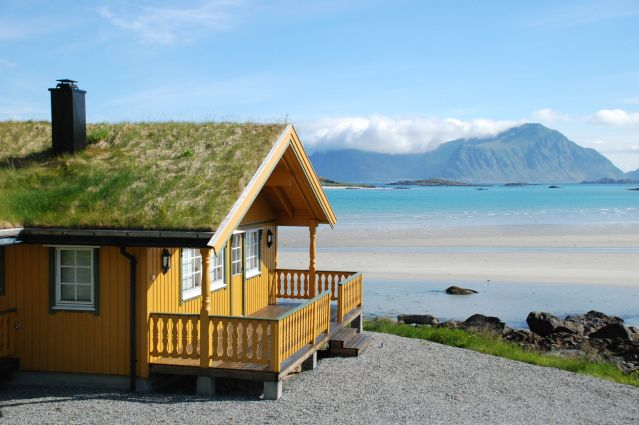 Plage de Sandbotnen - Norvège