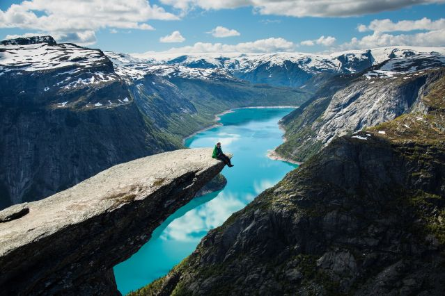 Trolltunga - Norvège