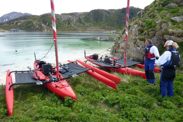 Voyage D'île en île en kayak à voile