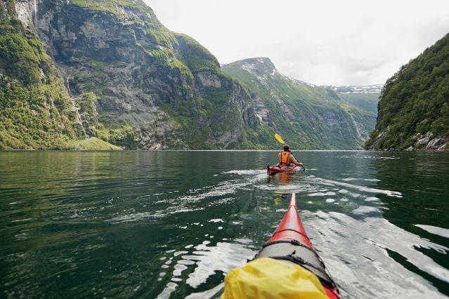 Voyage Kayak, vélo et randonnées dans les fjords