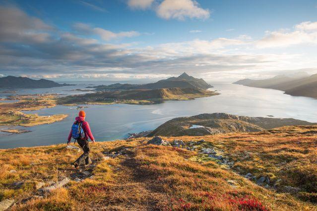 Offersoykammen dans les îles Lofoten - Comté de Nordland - Norvège