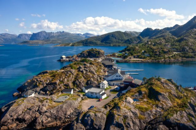 Hamn i Senja - Skaland - Norvège
