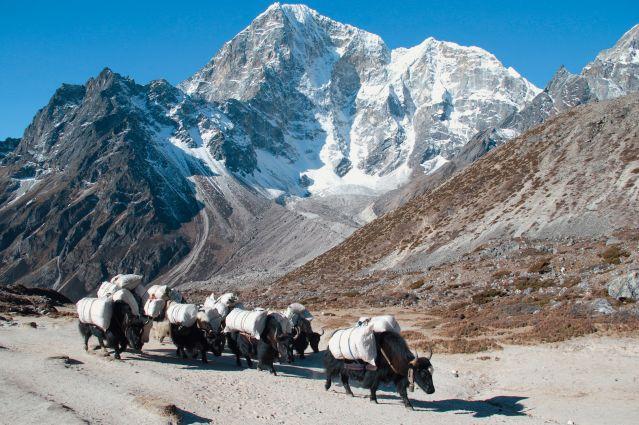 Voyage L'Everest par les hauts cols
