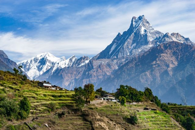 Balcon des Annapurnas : au pied des géants !