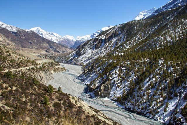 Tour du massif des Annapurnas - Népal