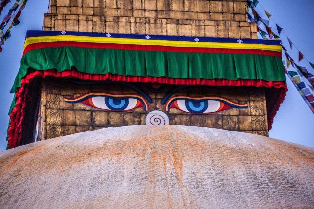 Temple - Tour du Manaslu - Népal