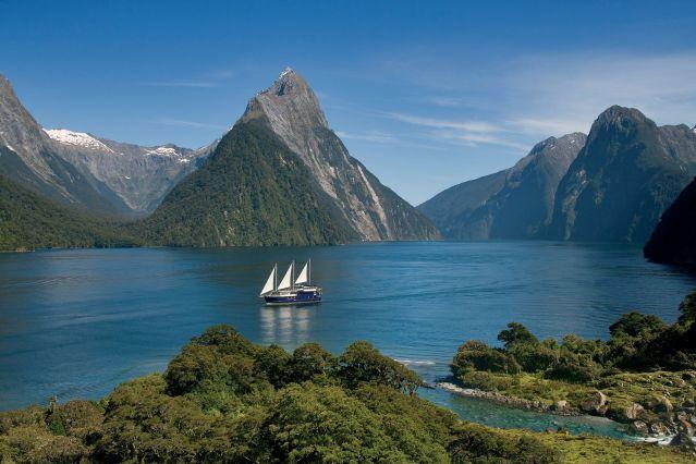 Milford Mariner - Parc national de Fiordland - Milford Sound - Ile du Sud - Nouvelle Zelande