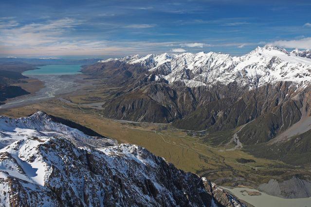 Parc national Aoraki/Mount Cook - Ile du Sud - Nouvelle Zélande