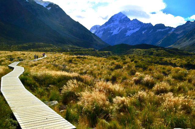 Hooker Valley Track - Mount Cook - Nouvelle-Zélande