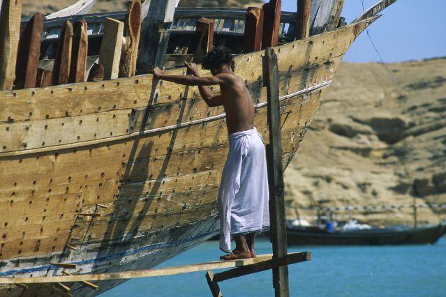 Voyage Kayak en mer d'Oman et désert
