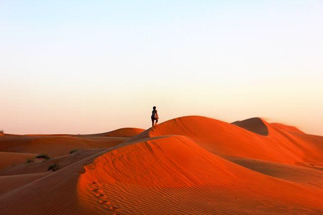 Randonnée dans le désert de Wahiba - Oman