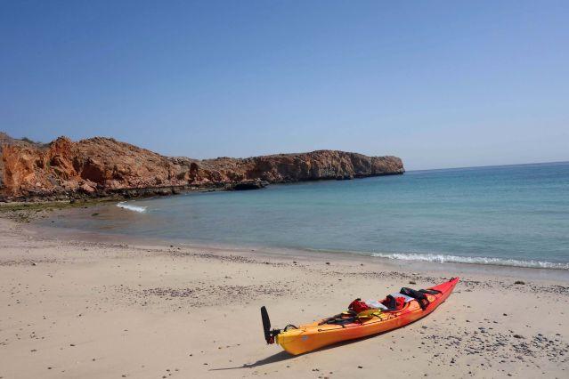 Kayak en Oman