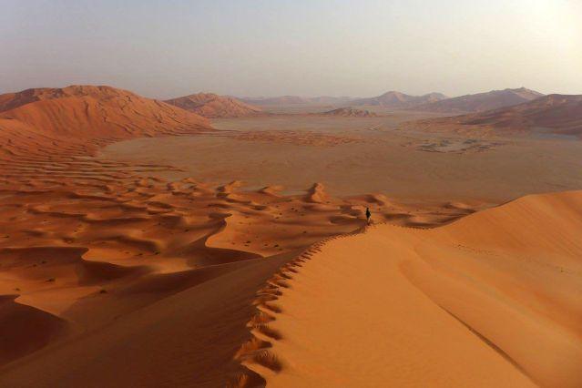 Sud du désert Rub al Khali - Oman