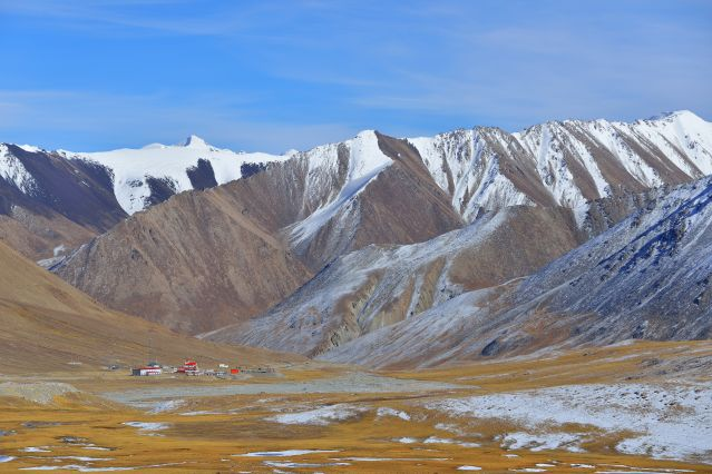 Khunjerab Pass - Chaîne de Karakoram - Gilgit-Baltistan - Pakistan