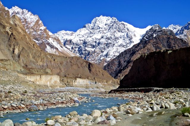 Vallée de Shimshal - Karakoram - nord du Pakistan