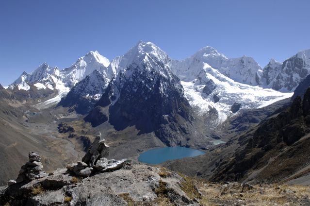Voyage Trekking au pied de l'Alpamayo