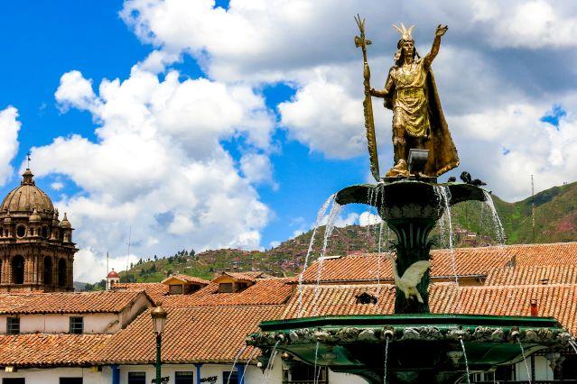 Plaza de Armas de Cuzco - Pérou