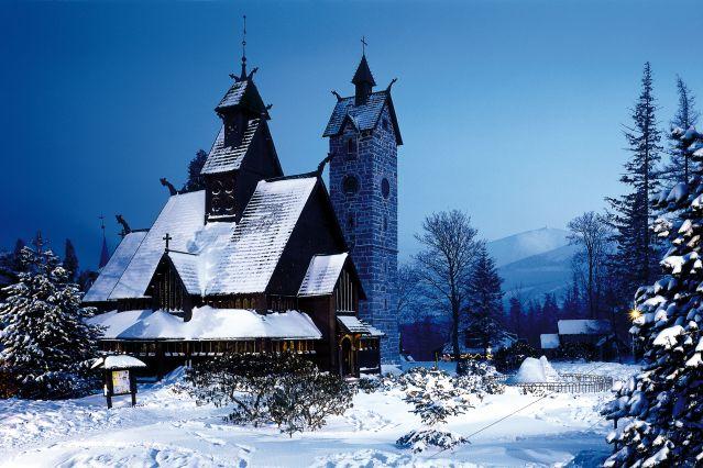 Chapelle Wang - Karpacz - Sudètes - Pologne