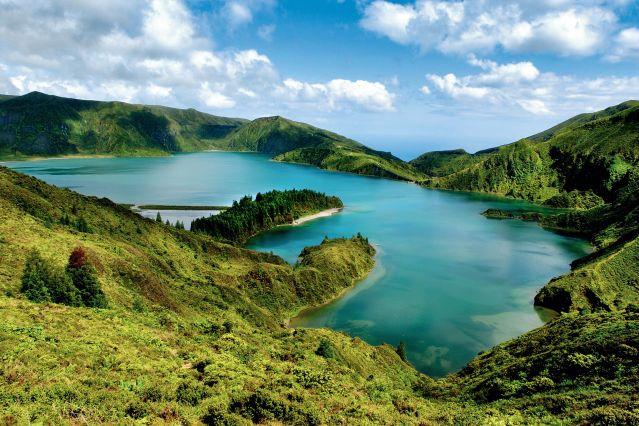 Lacs de Sete - Ile de Sao Miguel - Archipel des Açores - Portugal
