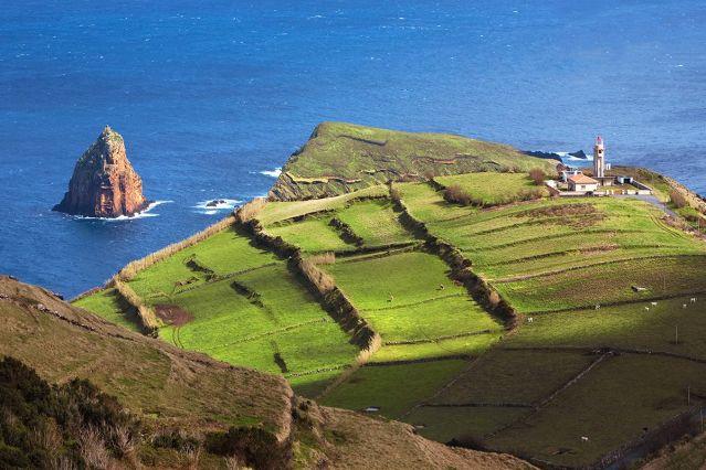 Pointe de l île de Graciosa - Açores - Portugal