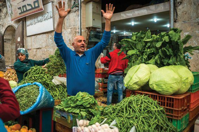 Dans les rues de Bethléem - Palestine