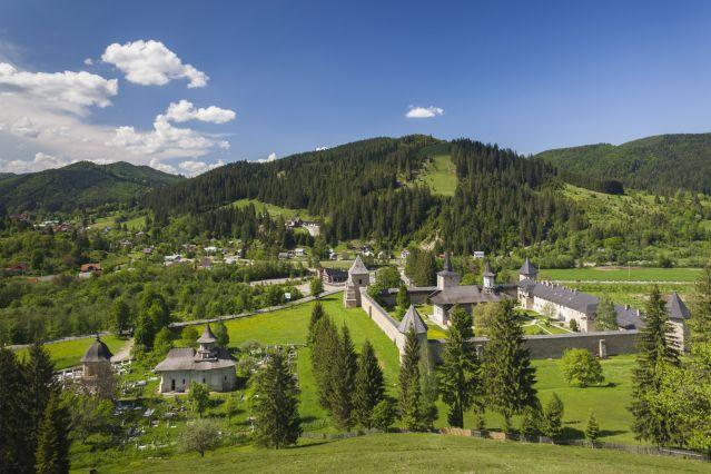 Monastère de Sucevita - Bucovine - Roumanie