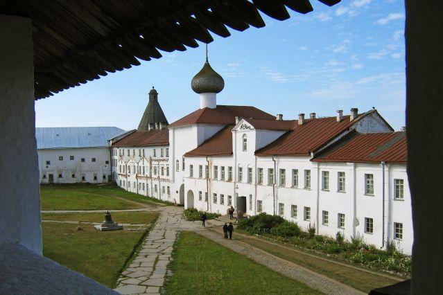 Dans le monastère Solovetsky - Russie