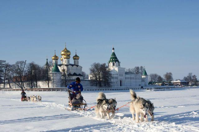 Tra 238 Neau 224 Chiens Russie D 233 Couverte Russie Ski De Fond
