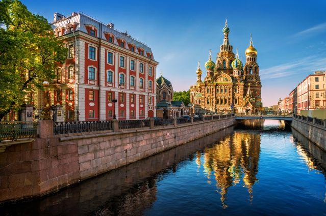 Cathédrale de Notre-Sauveur - Saint Pétersbourg - Russie