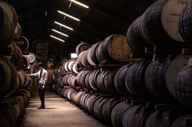 Glengoyne Distillery - Dumgoyne - Écosse - Royaume-Uni