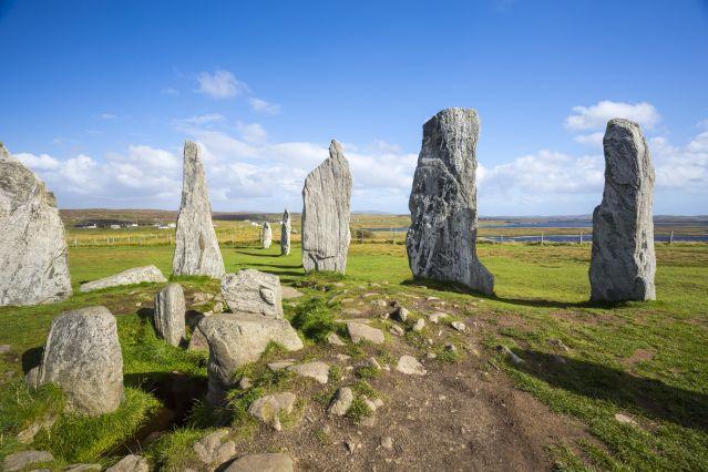 Le site mégalithique de Calanais - Lewis - Écosse - Royaume-Uni