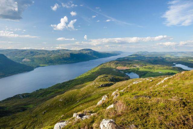 Paysage du Loch Ness - Highlands - Ecosse - Royaume-Uni