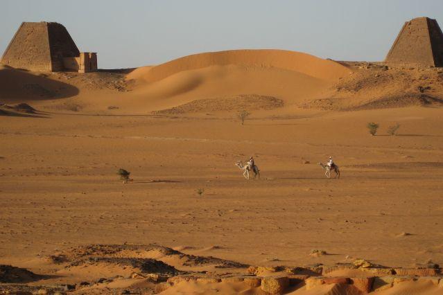 Nécropole de Méroé - Soudan