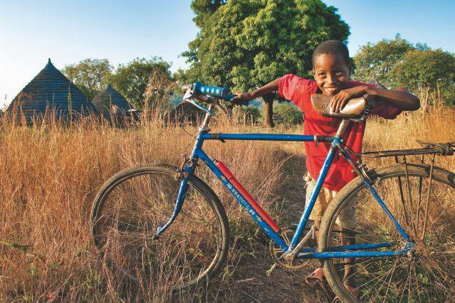 Rencontre à vélo - Sénégal