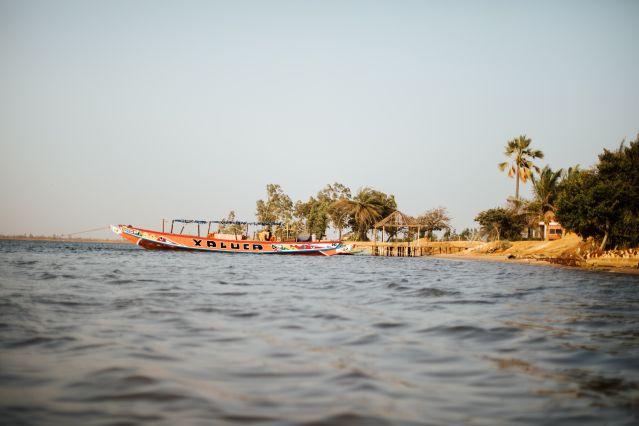 Sur les berges du campement Essamaye - Sénégal