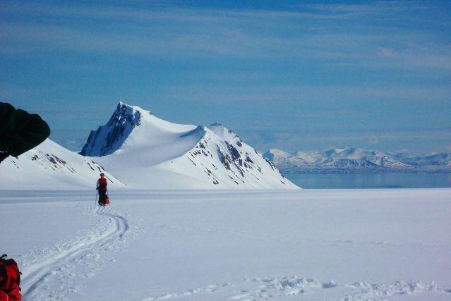 Raid à ski au Spitzberg - Norvège