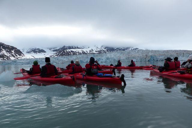 Kayak de mer - Spitzberg - Norvège
