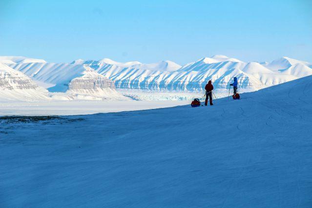 Voyage Templefjord à ski, entre glaciers et banquise
