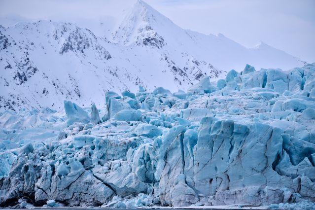 Glacier - Spitzberg - Norvège